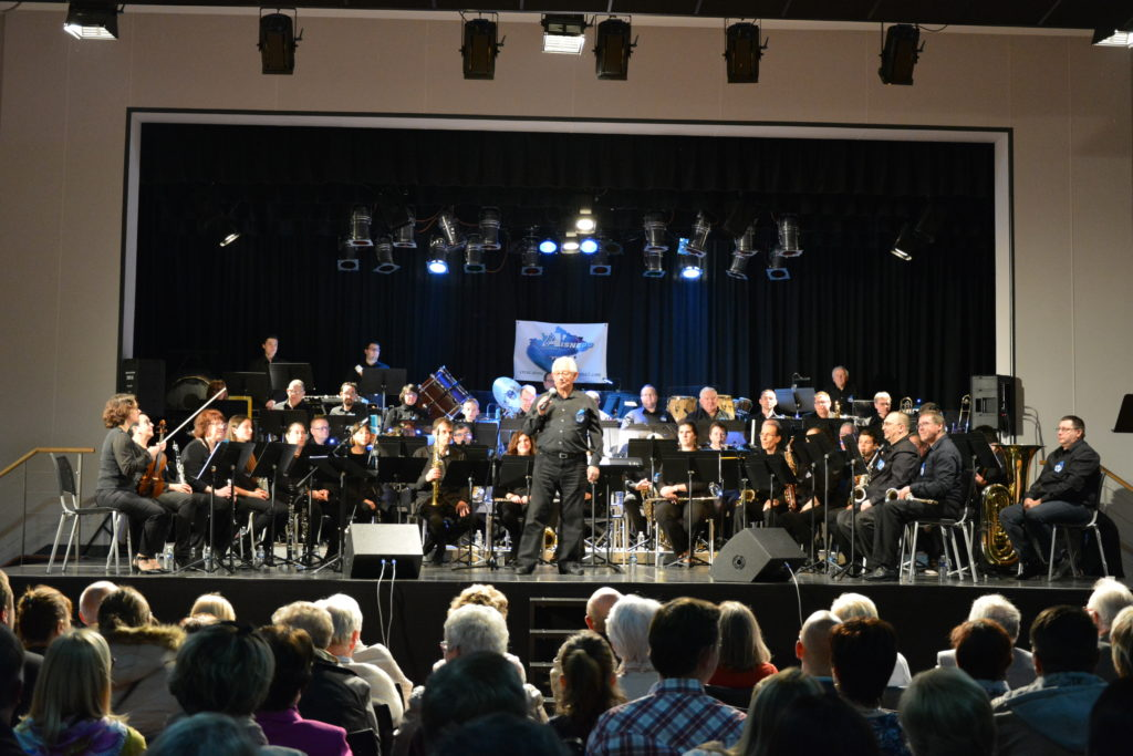 Cresc'Aisne Do Orchestra avec Bernard